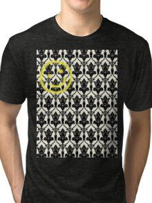BBC Sherlock 'Bored Smiley Face'  Tri-blend T-Shirt