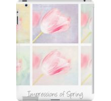 Impressions of Spring iPad Case/Skin