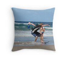 Local Skimmer Throw Pillow