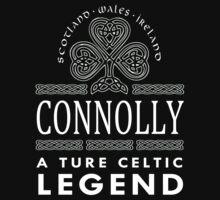 Scotland wales Ireland CONNOLLY a true celtic legend-T-shirts & Hoddies by elegantarts