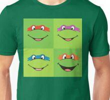 TMNT Teenage Mutant Ninja Turtles Leonardo Michaelangelo Donatello Raphael Mikey Green Unisex T-Shirt