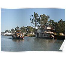 River scene. Poster
