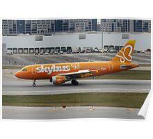 Passenger Jet Poster