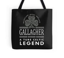 Scotland wales Ireland GALLAGHER a true celtic legend-T-shirts & Hoddies Tote Bag