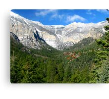 Mt. Charleston Canvas Print