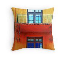 Biltmore window Throw Pillow