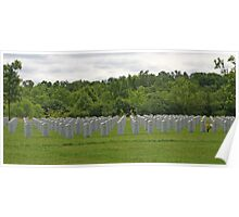 Military Cemetery Poster