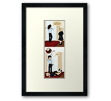 Dressing Up For A Special Occasion Framed Print