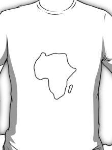 Africa African continent map T-Shirt