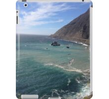 Peaceful and sunny ocean view iPad Case/Skin