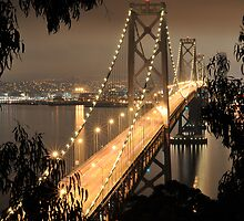Bay Bridge Framed by Stanley Ching
