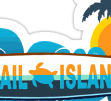 Topsail Beach - North Carolina. Sticker
