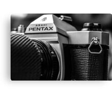 Pentax film Camera Canvas Print