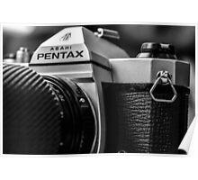 Pentax film Camera Poster