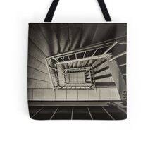 Stairs Spiral Tote Bag