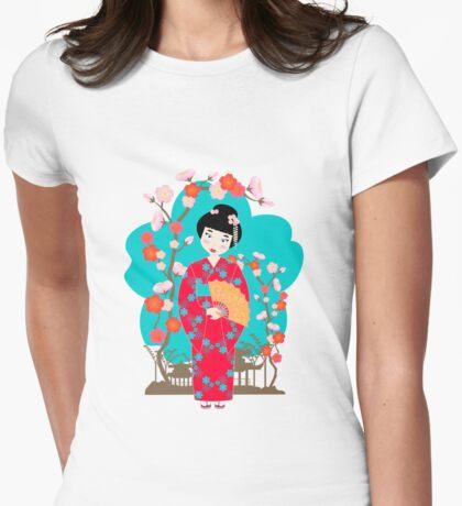 Japanese Geisha Girl T-Shirt