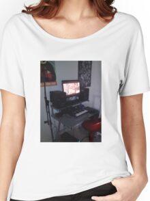 CloudLounge Studio  Women's Relaxed Fit T-Shirt