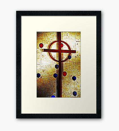 Faith! Framed Print