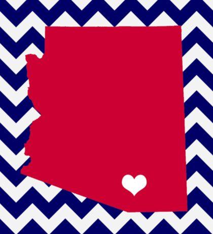 University of Arizona Chevron Sticker