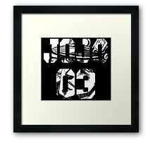 Jotaro Kujo 2 Framed Print