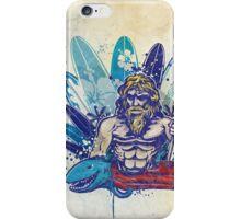 poseidon surfer  iPhone Case/Skin