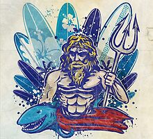 poseidon surfer  by Doomko
