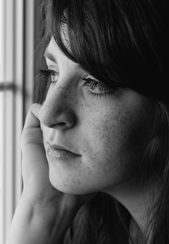 Pensive by Johanne Brunet