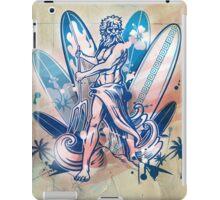 poseidon surfer  iPad Case/Skin