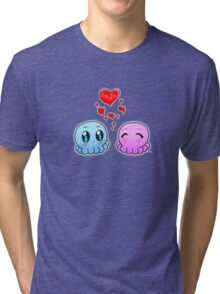 True Love: Tako-Chan V Day Shirt Tri-blend T-Shirt