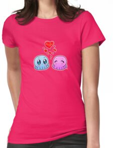 True Love: Tako-Chan V Day Shirt Womens Fitted T-Shirt