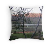 Dusk at Pine Tier Lagoon,Tasmania. Throw Pillow