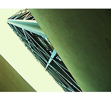 The Transamerica Building - stairwell Photographic Print
