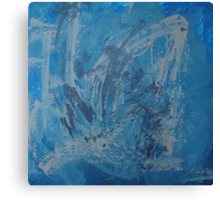 MY BLUE MOMENTS(C2000) Canvas Print