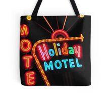 Holiday Motel Tote Bag