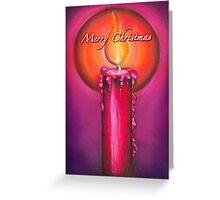 Candlelit Christmas Greeting Card