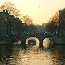 Amsterdam bridges II by jchanders