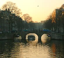 Amsterdam bridges II by jchanders