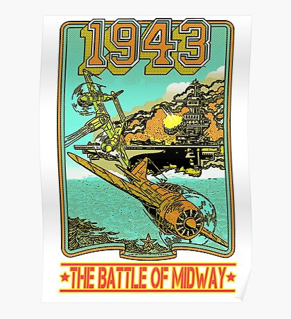 The Battle of Midway Poster