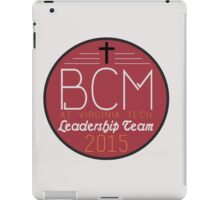 BCM at Virginia Tech Leadership Team iPad Case/Skin