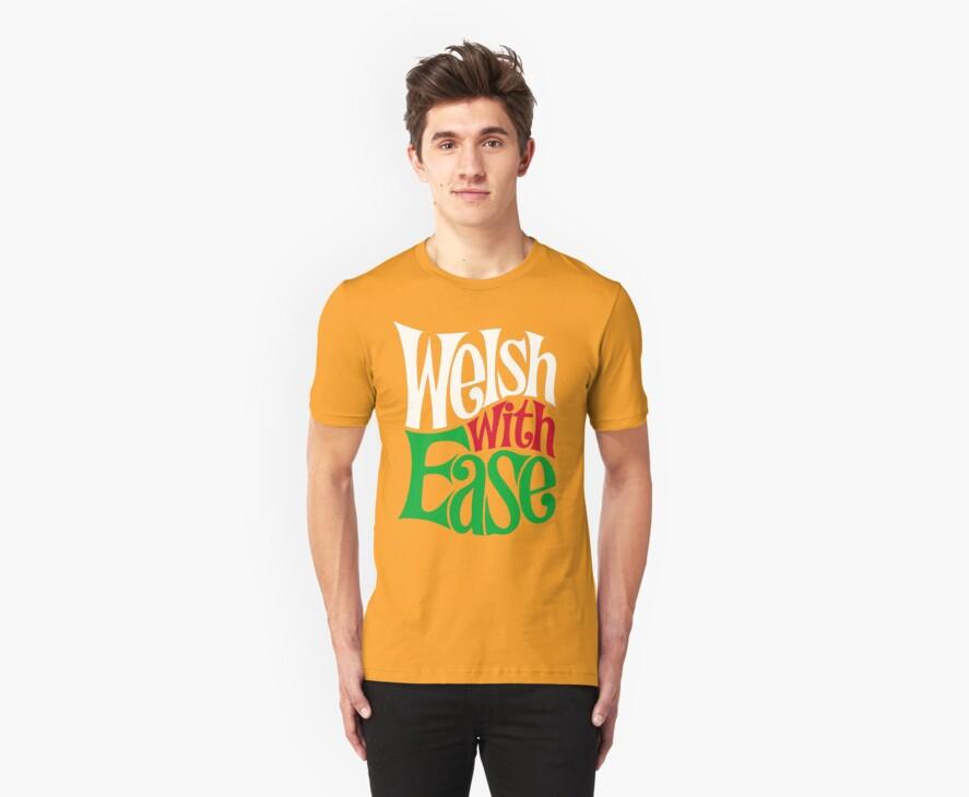 Proud Welsh T Shirt by Spikerama