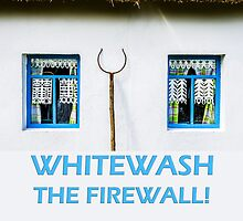 Whitewash the firewall by luckypixel