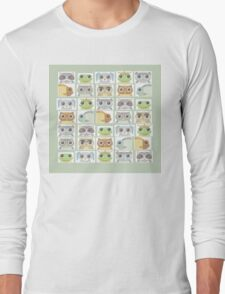 Portraits Of Animal Friends Long Sleeve T-Shirt