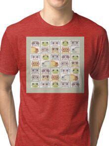 Portraits Of Animal Friends Tri-blend T-Shirt