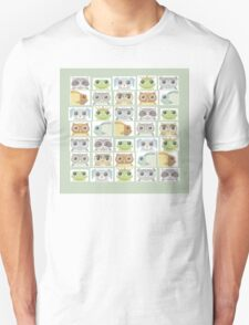 Portraits Of Animal Friends T-Shirt