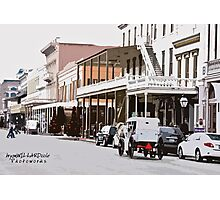 Sunday In Old Sacramento Photographic Print