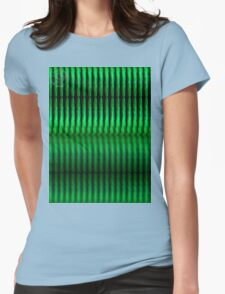 ©DA Green Thing I Womens Fitted T-Shirt