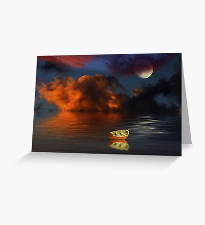 Tranquil Bay Greeting Card