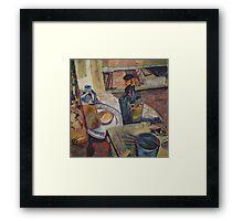 STILL LIFE WITH DRY(C1994) Framed Print