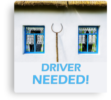 Driver needed Canvas Print