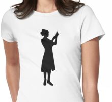 Nurse woman Womens Fitted T-Shirt